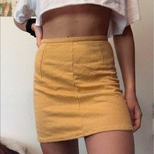 Dresses & Skirts - Yellow skirt